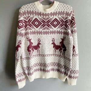 Tipsy Elves Naughty Deer Ugly Christmas Sweater